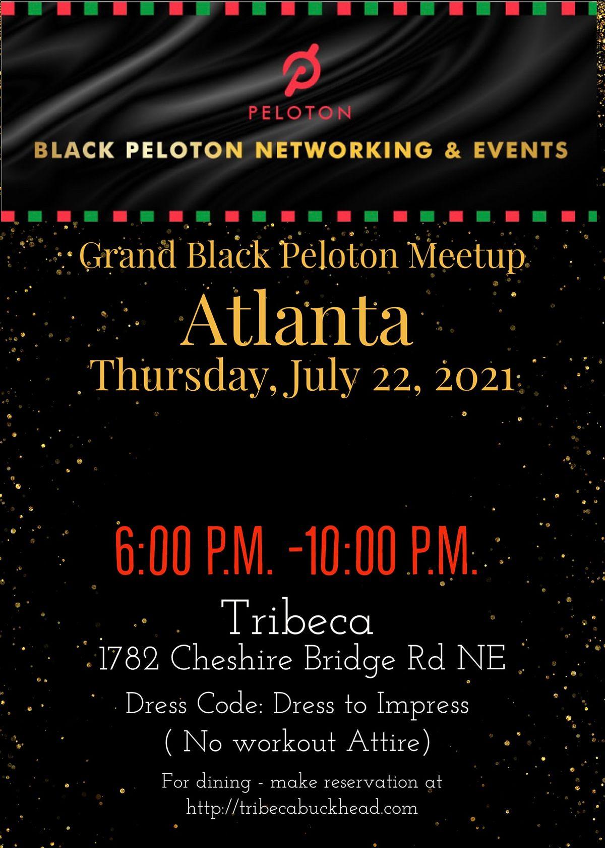 The Grand Black Peloton Meetup -ATLANTA