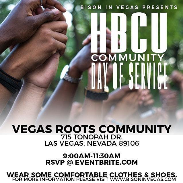 Bison In Vegas HBCU Community Service Day