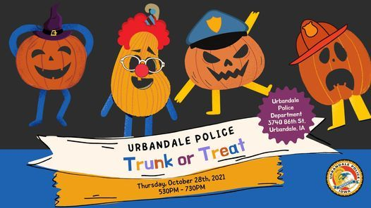 Urbandale Police Department's Trunk or Treat