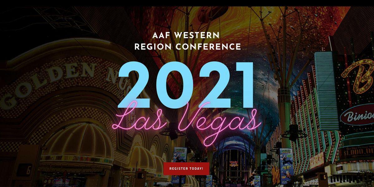 AAF Western Region Conference 2021 Las Vegas