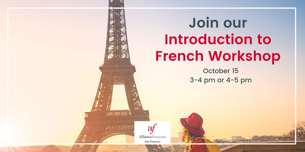 Introduction to French (Onsite)