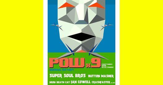 DNA Lounge + 8bitSF: POWx9 GDC Week w\/ Super Soul Bros, Button Masher, Neon Death Cat, Ian Cowell ++