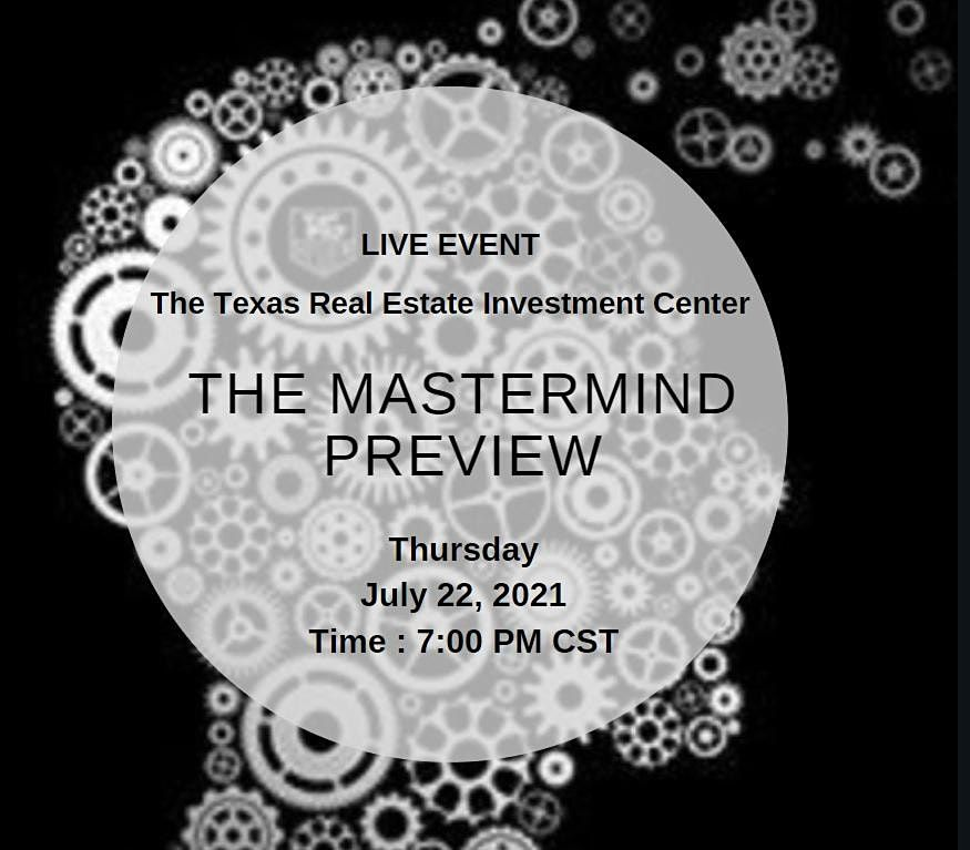 The Mastermind Preview (Live Event)