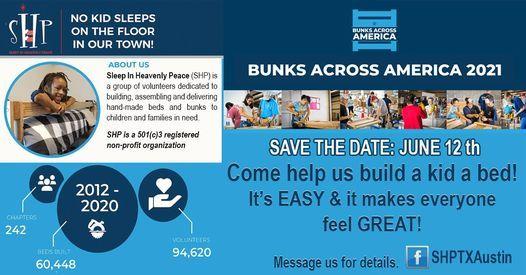 """Bunks Across America"" SHP Volunteer Day"