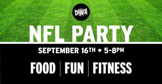 NFL themed Mid Month Party