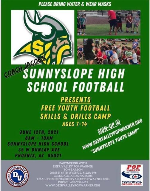 Free Youth Football Clinic