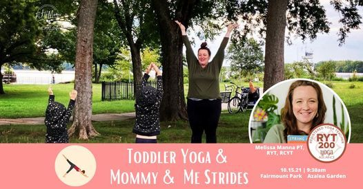 Toddler Yoga and Strides Collaboration Class