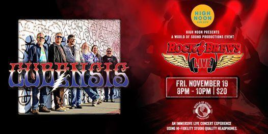 Rock & Brews Live - CUBENSIS - Live Grateful Dead Music