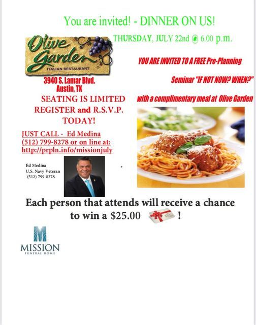 Olive Garden Dinner Party