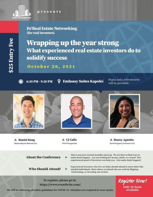Fo'Real Estate In Person Event