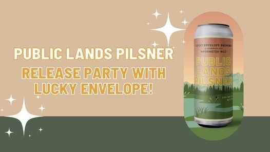 Public Lands Pilsner Release Party