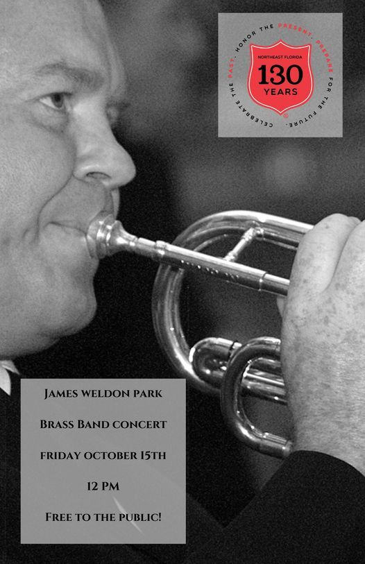 Friday October 15th, 130th Anniversary Brass Band Performance