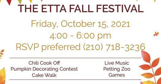 The Etta Fall Festival!