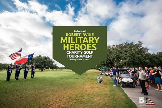 2nd Annual Robert Irvine Military Heroes Charity Golf Tournament - San Antonio, TX
