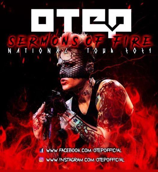 Sermons Of Fire Tour