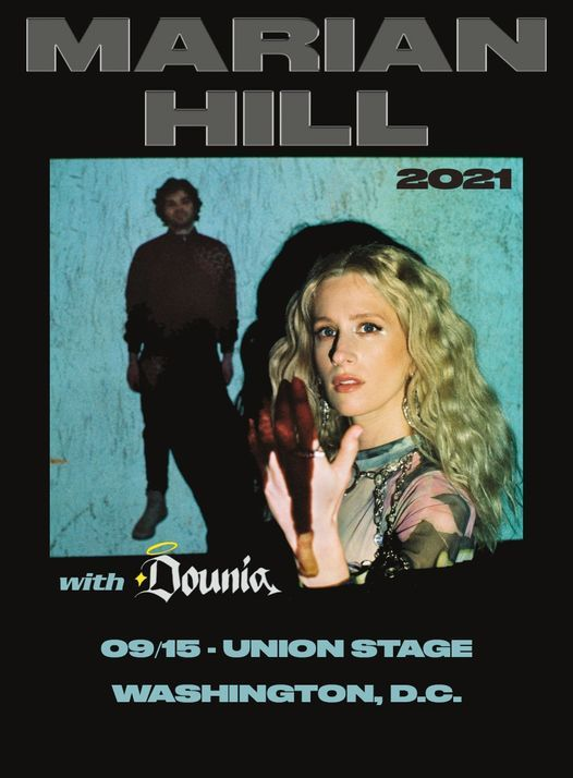 New Date! Marian Hill with Dounia