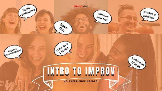 Intro to Improv   Monday Evenings