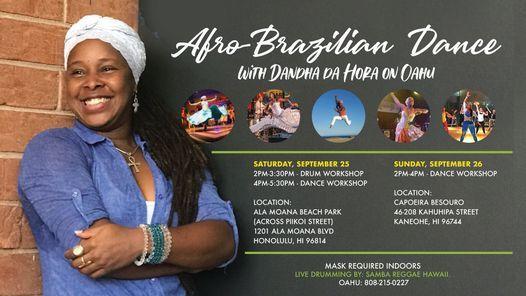 Afro-Brazilian Dance & Drum Workshop with Dandha da Hora