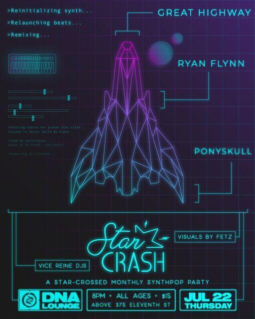 The Return of Star Crash! Feat. Great Highway, Ryan Flynn, Ponyskull
