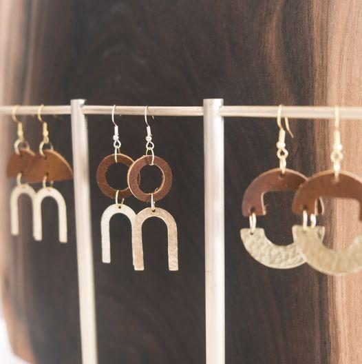 Hammered Earring Workshop