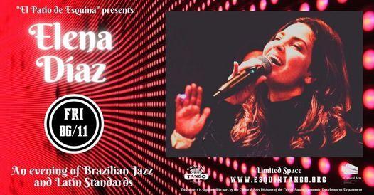 Brazilian jazz and Latin standards with Elena D\u00edaz Quartet