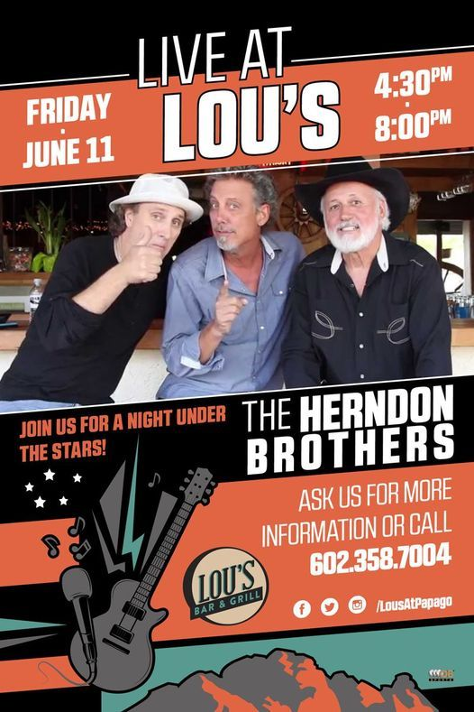 Live at Lou's - The Herndon Brothers