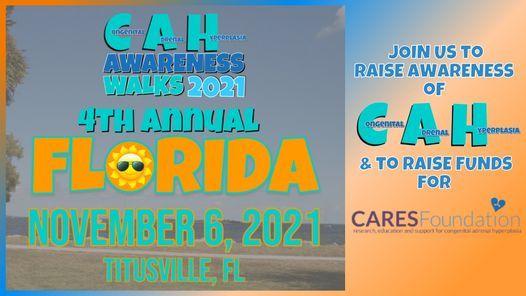 4th Annual CAH Awareness Walk Florida