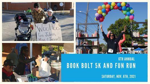 6th Annual Book Bolt 5K and Fun Run