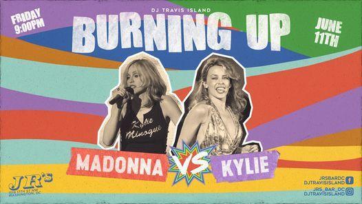 BURNING UP! Madonna vs Kylie