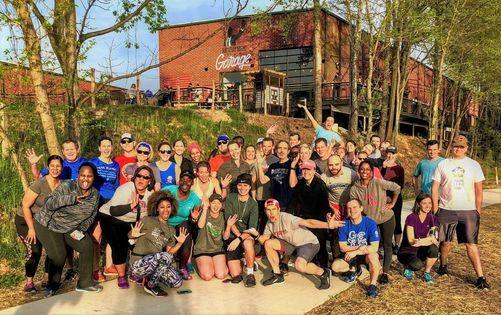 Atlanta BeltLine Group Run - Westside Trail (Monday Night Garage)