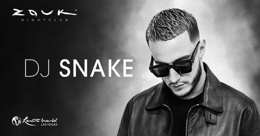 DJ Snake at Zouk Nightclub