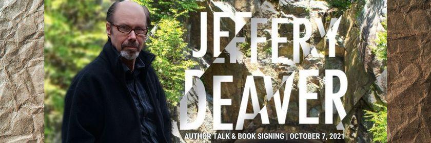 Jeffery Deaver Author Talk & Book Signing