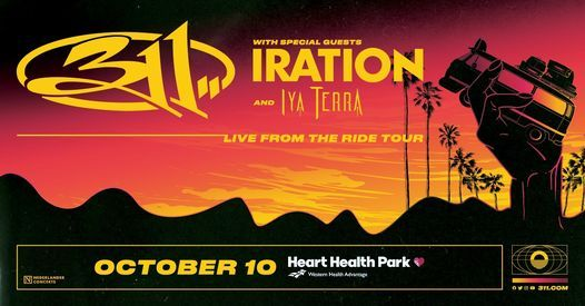 311 - Live From The Ride Tour with Iration, Iya Terra