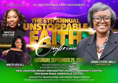 The 6th UNSTOPPABLE FAITH Conference