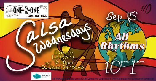 All Rhythms Salsa Night at One-2-One