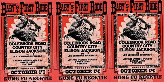 Colebrook Road, Country City, Elison Jackson, DJ Lee Jennings Richards, Sweet Jane Vintage