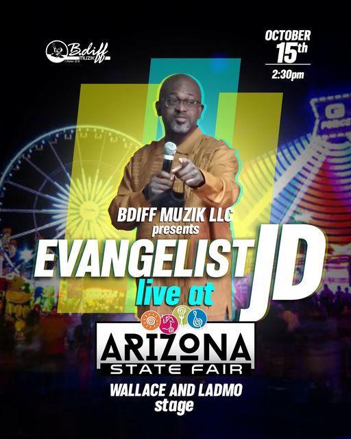 Evangelist JD Live at Arizona State Fair