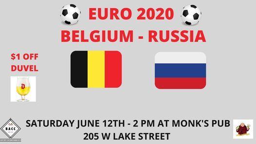 EURO 2020 BELGIUM - RUSSIA