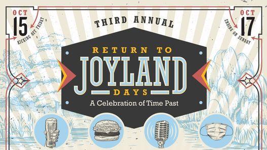Return to Joyland - 3 Year Anniversary