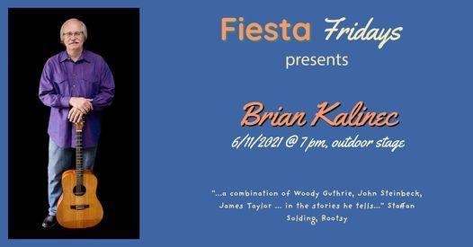 Fiesta Fridays presents Brian Kalinec