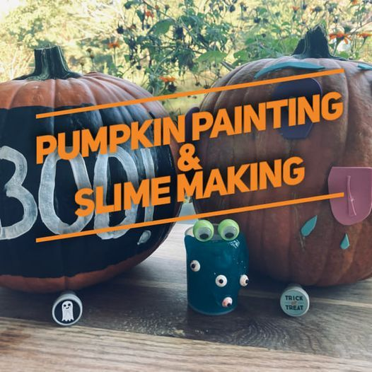 Pumpkin Painting and Slime Party
