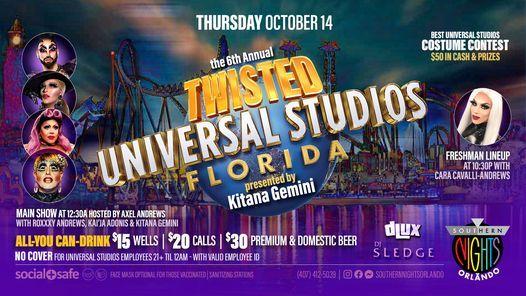 10.14.21 Twisted Universal Studios at Southern Nights Orlando
