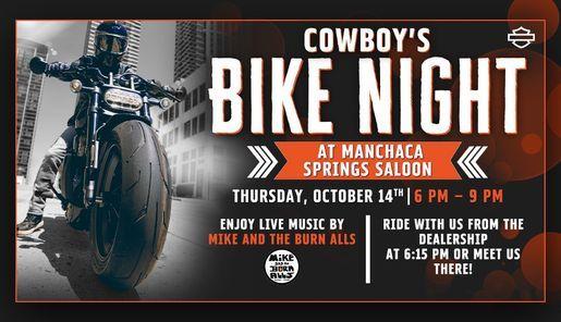 Cowboy's Bike Night