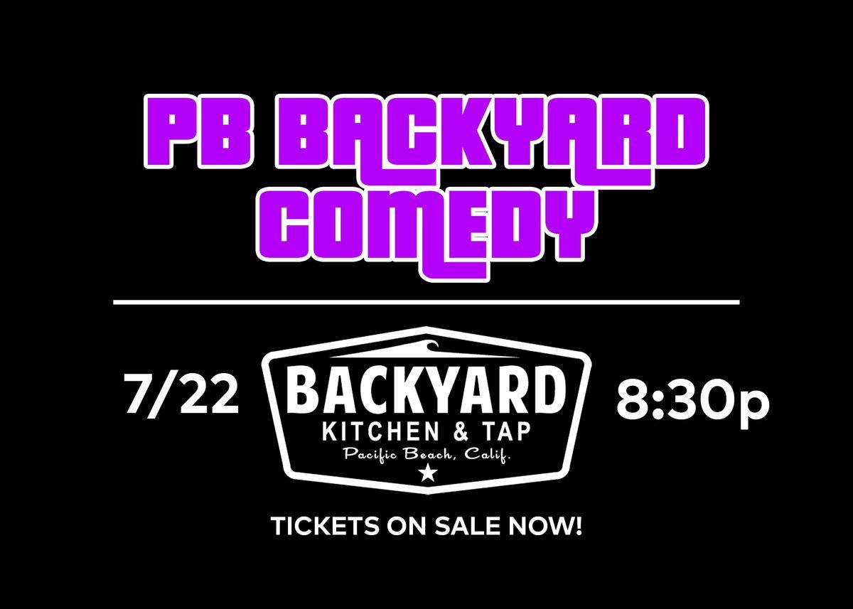 PBBackyardComedy @ Backyard