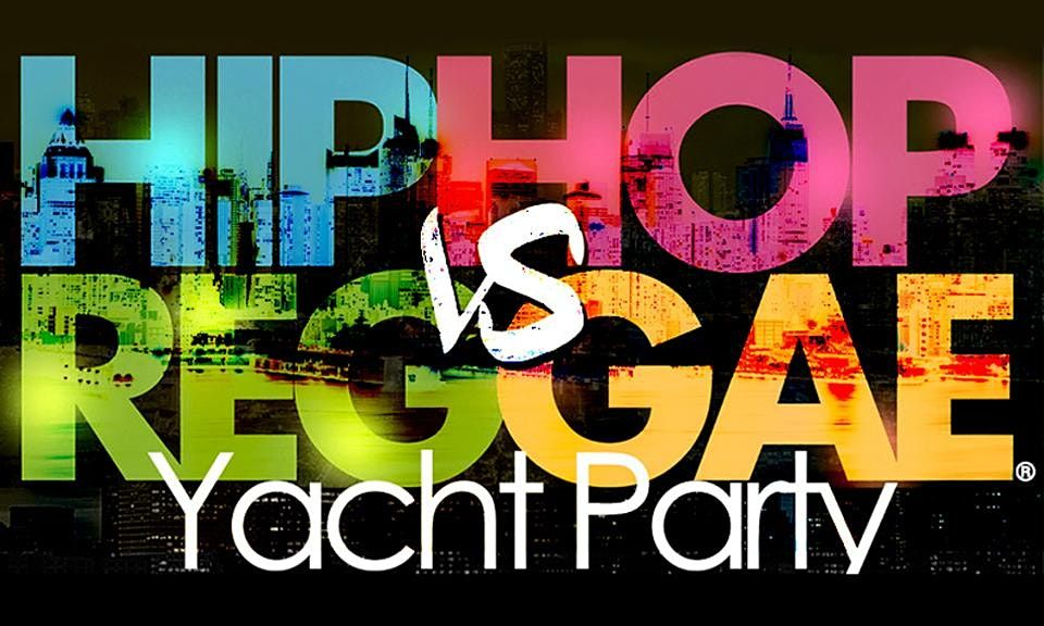 Summer NYC Hip Hop vs Reggae\u00ae Sunset Cruise Skyport Marina Cabana Yacht