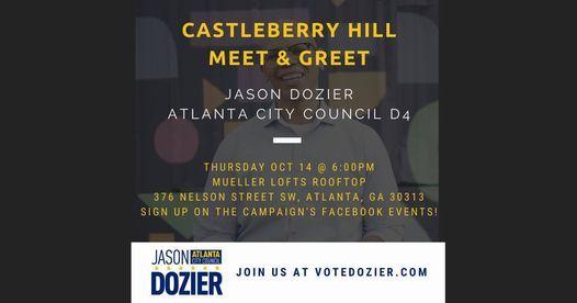 Castleberry Hill Meet & Greet!