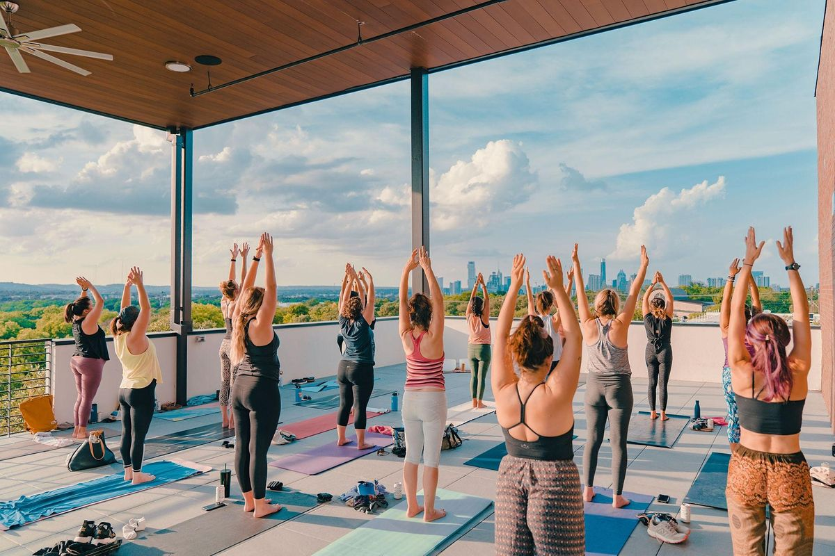 Rooftop Yoga+Sound @Colton House Hotel