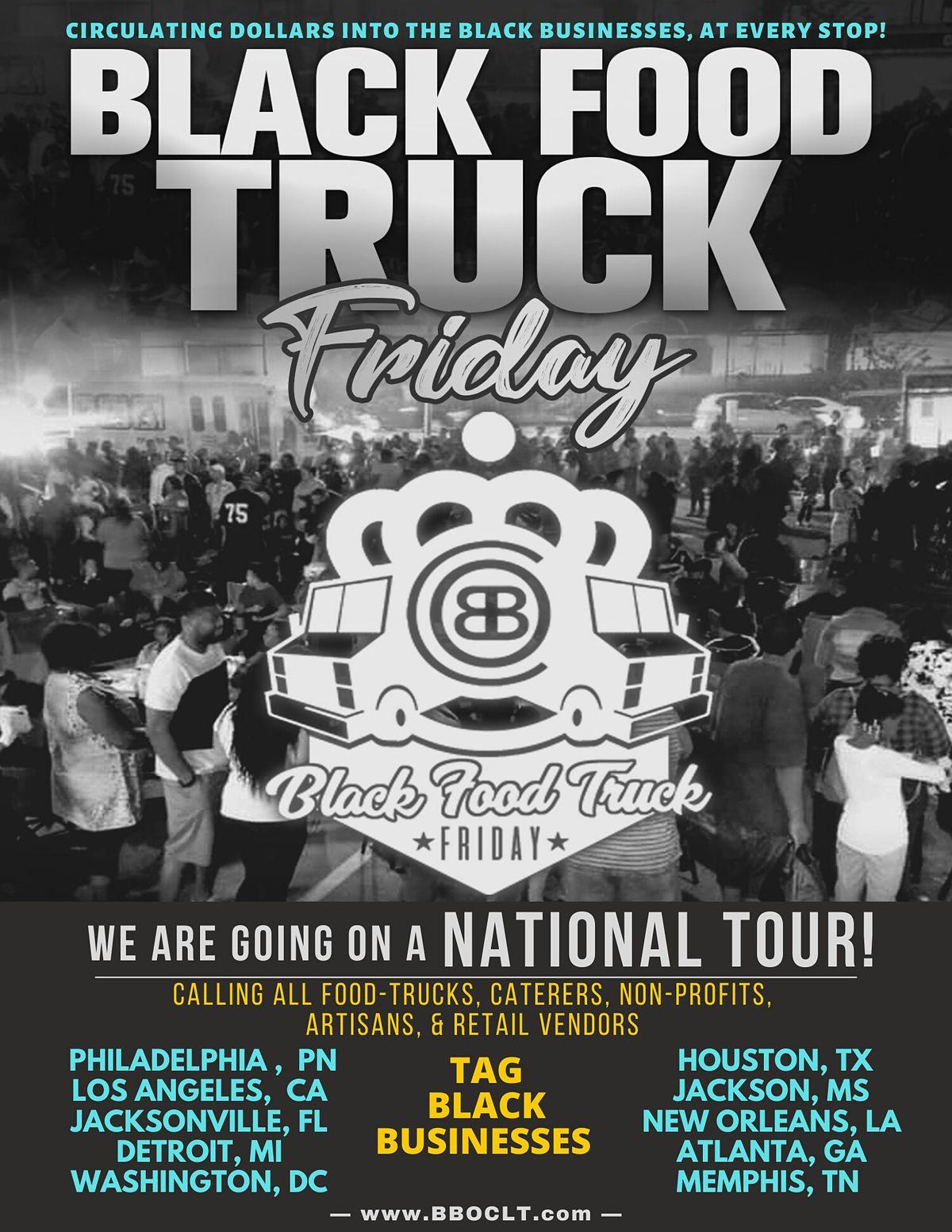 Black Food Truck Fridays-June 11th (Westside CLT)