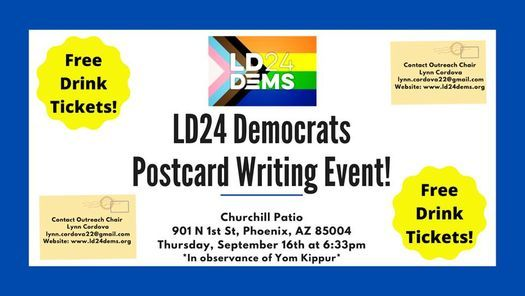 Postcard Writing Party!