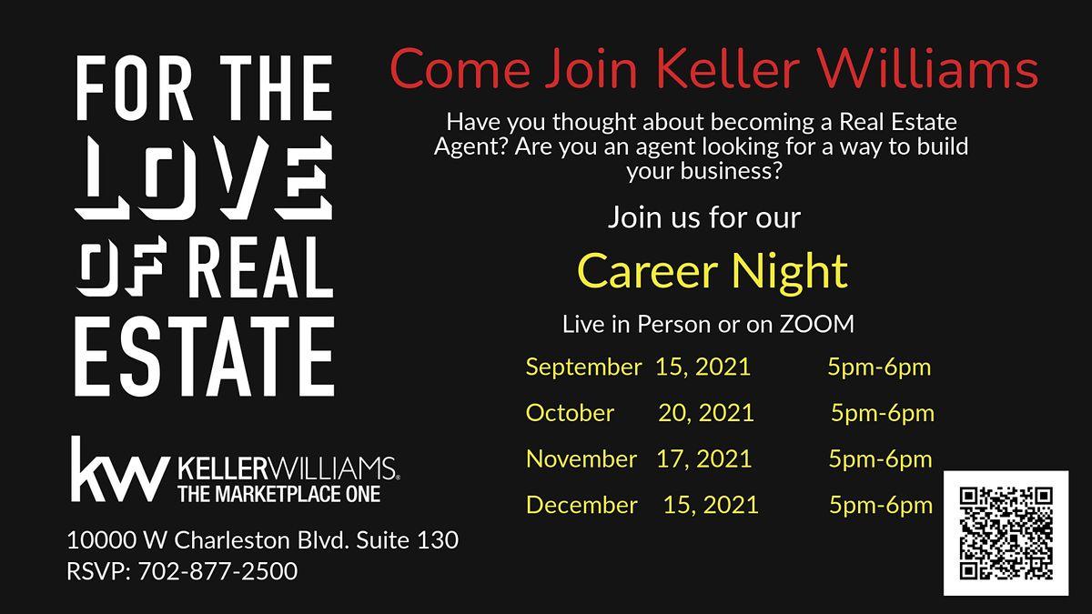 Keller Williams Realty MP1 Real Estate Career Night